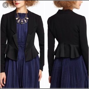 Leifsdottir tuxedo jacket from Anthropologie